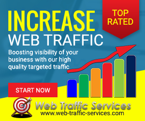 Web Traffic Services - banner image